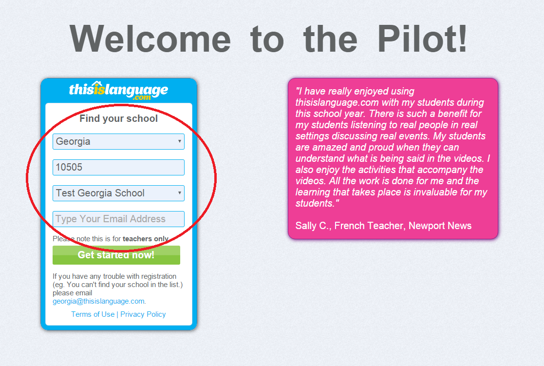 Registering For Your Pilot  This Is Language - Us zip code type